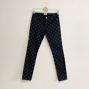 BlankNYC x Madewell Polka Dot Skinny Jeans